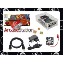 Raspberry Pi 3 ArcadeStation